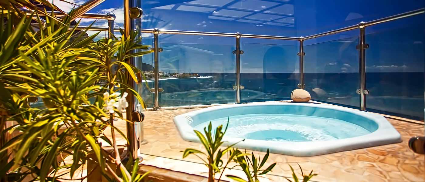 Jacuzzi Wellness Gomera Lounge La Playa