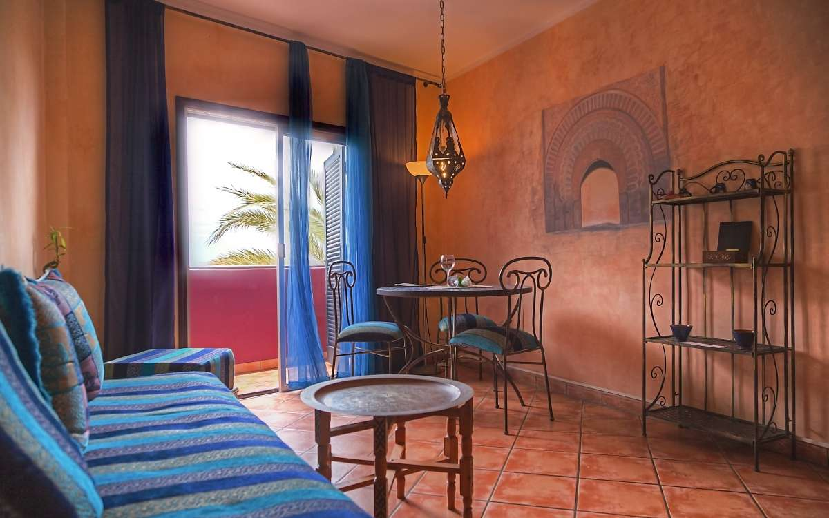 Gomera Lounge Apartment Marrakech Living Room