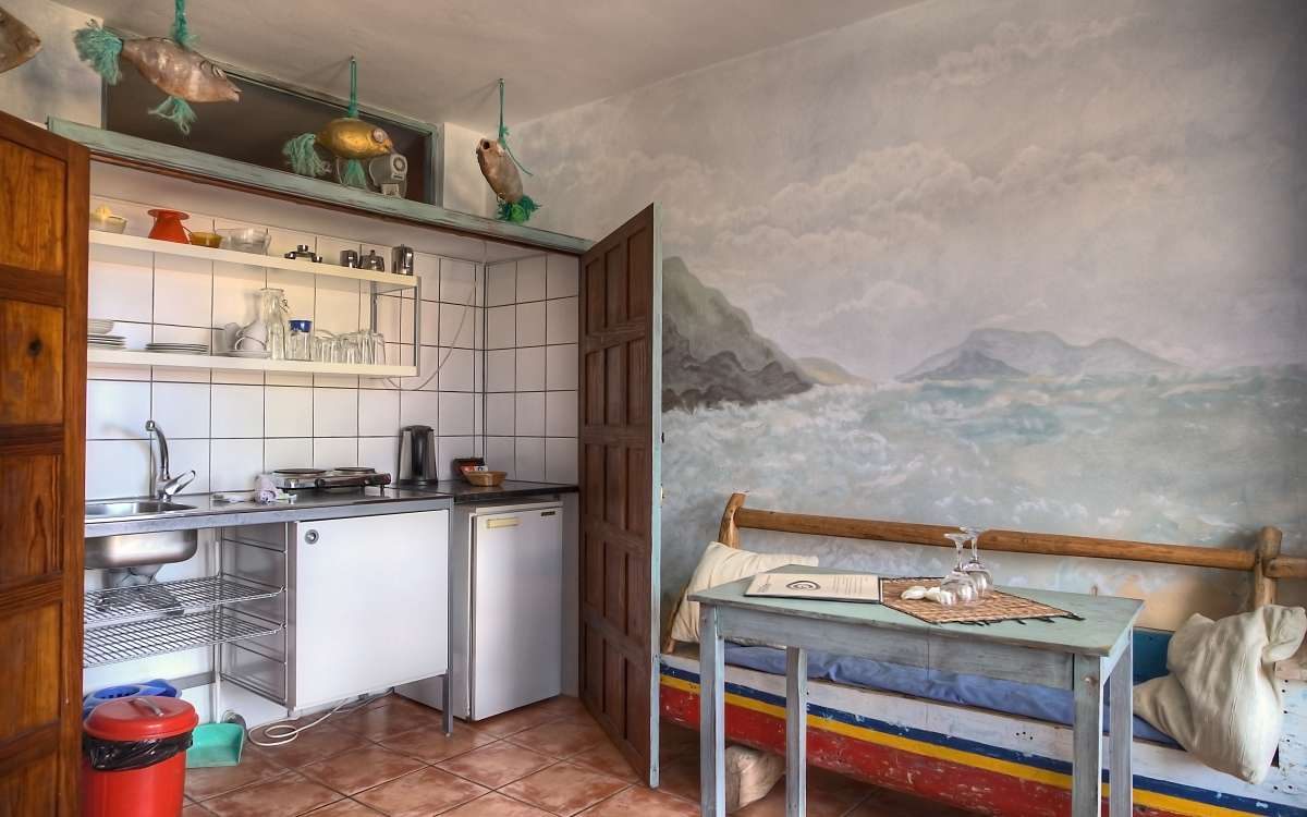 Gomera Lounge Apartment Cabo Verde Kitchen