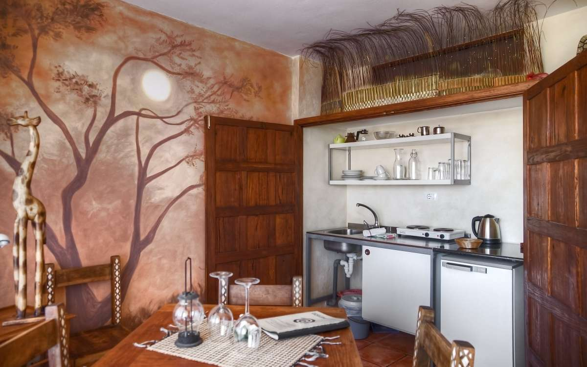 Gomera Lounge Apartment Africa Kitchen
