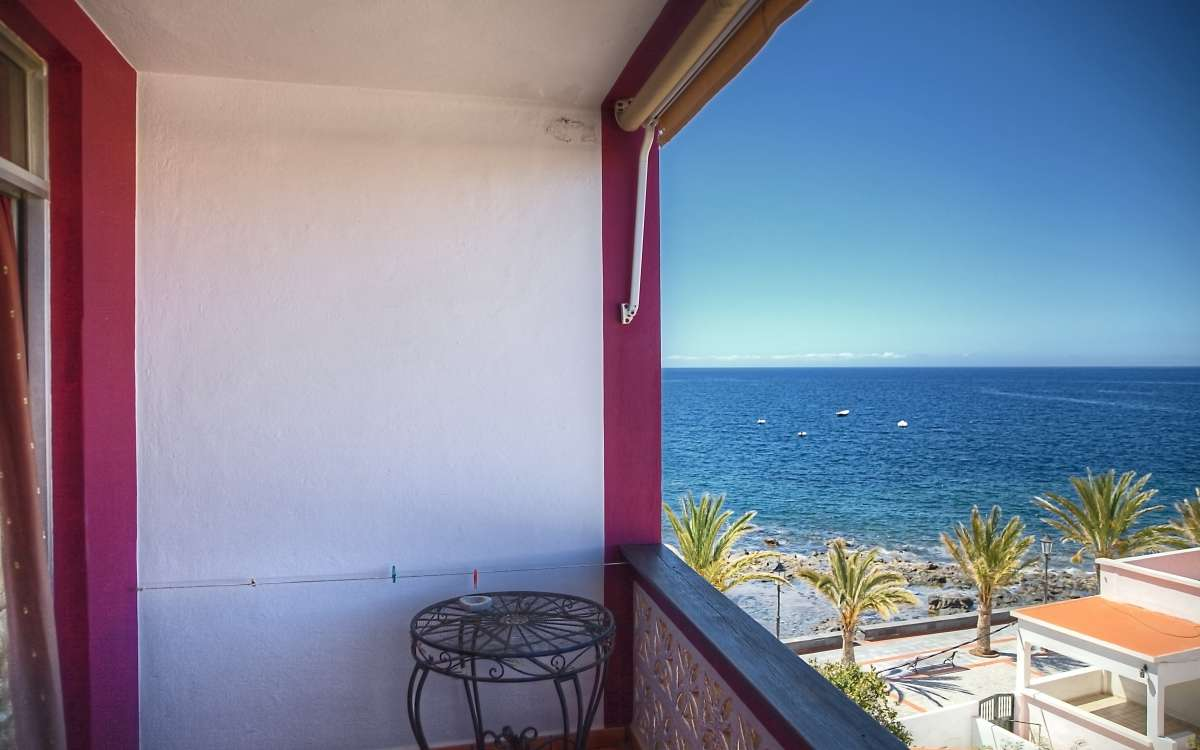 Gomera Lounge Apartment India Balkon