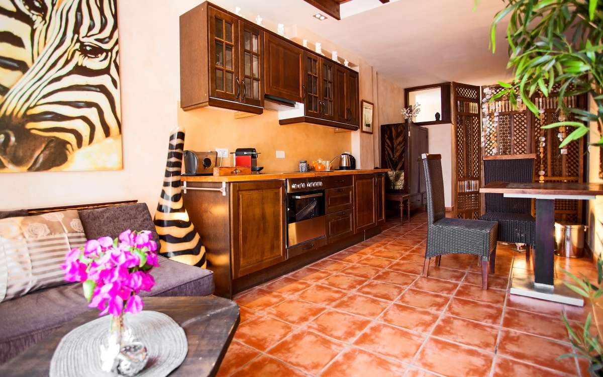 Gomera Lounge Apartment Casa Romana Kitchen