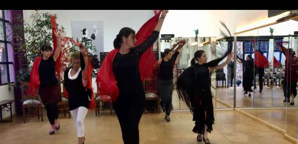 sevillanas Workshop Valle Gran Rey